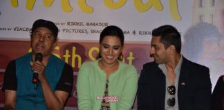 Swara Bhaskar all smiles at Time Out movie press meet