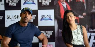 Anil Kapoor, Shruti Haasan and John Abraham promote Welcome Back in Delhi