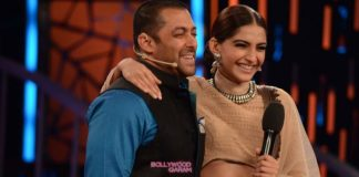 Sonam Kapoor promotes Prem Ratan Dhan Payo on the sets of Bigg Boss 9