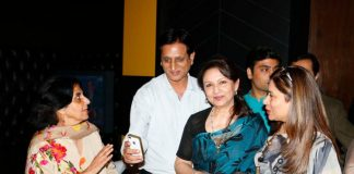 Ajay Devgn and Sharmila Tagore at CII press meet