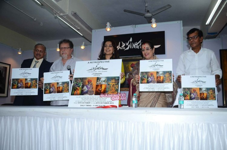 Juhi chawla art exhibition10