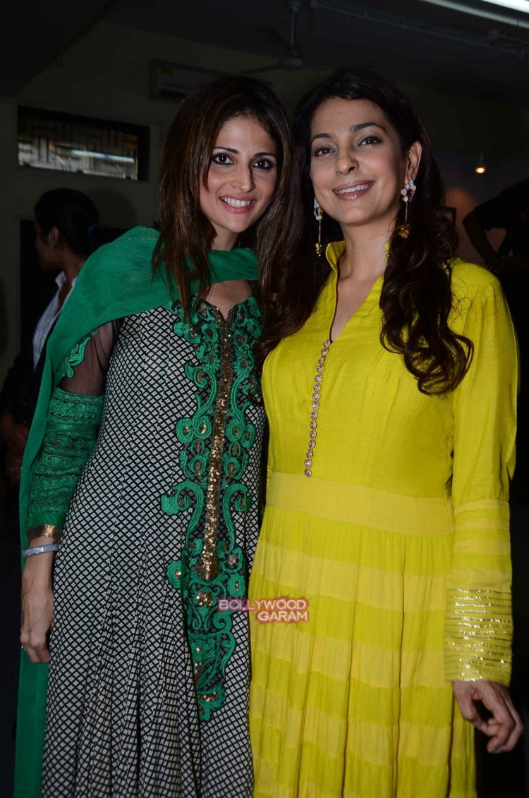 Juhi chawla art exhibition2