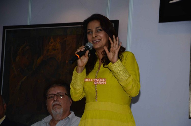 Juhi chawla art exhibition8
