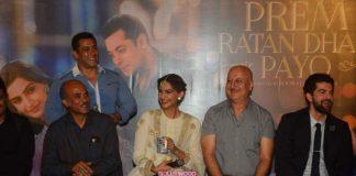 Salman Khan and Sonam Kapoor launch trailer of Prem Ratan Dhan Payo