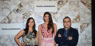 Athiya Shetty, Rashi Nigam and others at Pankaj & Nidhi Koovs collection launch – Photos