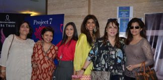 Maria Goretti and Roshni Chopra bond at Project 7 event
