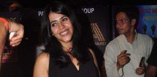 Ekta Kapoor and Gauhar Khan walk the red carpet at TIFA awards
