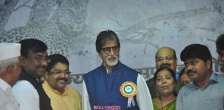 Amitabh Bachchan appears at Tiger brand ambassador event