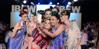 Gionee India Beach Fashion Week Photos – Anupama Dayal shows off Swayamwar collection