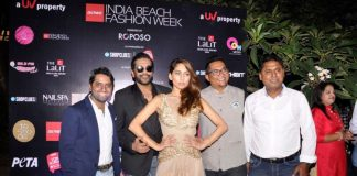 Anusha Dandekar and  Rocky S at Gionee India Beach Fashion Week launch – Photos
