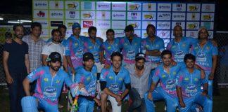 TV Celebs participate at Corporate Cricket Match Season 2