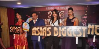Daish Shah, Chitrangada Singh and Richa Chadda at Country Club New Year press event
