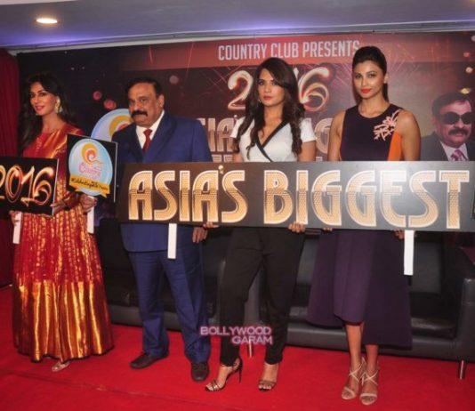 Daish Shah, Chitrangada Singh and Richa Chadda at Country Club New Year press event