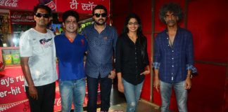 Makarand Deshpande and Ankush Chaudhary promote Dagdi Chawl