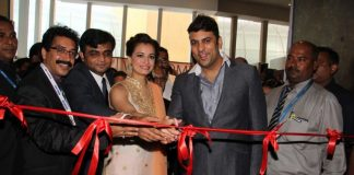 Dia Mirza stuns at jewellery exhibition launch