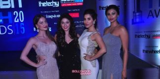 Sophie Choudry, Ellie Avram and Daisy Shah at Exhibit Awards – Photos