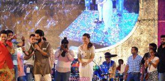 Shahid Kapoor and Alia Bhatt play Garbha  with Dandia Queen Falguni Pathak