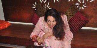 Hema Malini celebrates birthday with media