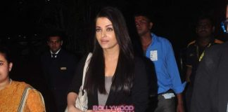 Aishwarya Rai and Irrfan Khan return from Jazbaa promotions in Delhi