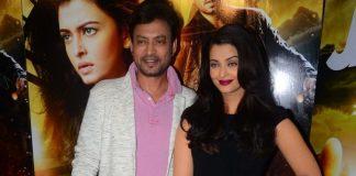 Aishwarya Rai and Irrfan Khan promote Jazbaa at press conference – Photos