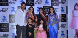 Tony Singh and Deeya Singh launch Kaala Teeka on Zee TV