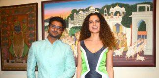 Kangana Ranaut admires artist Suvigya Sharma's art gallery – Photos