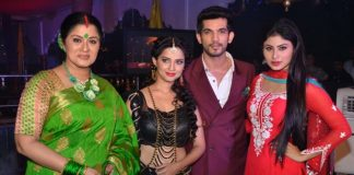 Mouni Roy, Arjun Bijlani and Adaa Khan launch Naagin show on Colors