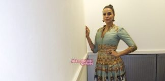 Neha Dhupia stuns as the face of Fashion Week in London