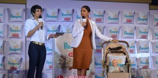 Lara Dutta stuns at Pampers event