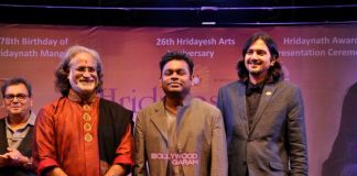 A.R. Rahman honoured with Hridaynath Mangeshkar Award