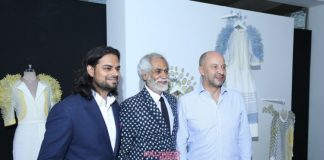 Amazon India Fashion Week Spring/Summer 2015 Photos – Rahul Mishra showcases collection at French Embassy