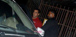 Salman Khan discusses future movies at Arbaaz Khan's office