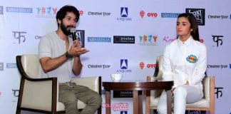 Alia Bhatt and Shahid Kapoor busy promoting Shaandaar in Delhi
