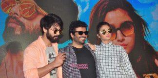 Shahid Kapoor and Alia Bhatt launch Raita Phail Gaya from Shaandaar – Photos