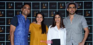 Konkana Sen, Gulshan Devaiah and Tillotama Shome at Nayantara's Necklace special screening