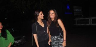 Sonali Bendre and Suzanne Khan spend friendly time over dinner