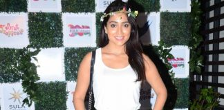 Preeti Jhangiani, Shriya Saran and Kim Sharma at Sula Wines bash