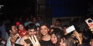 Sushmita Sen enjoys as chief guest at school event