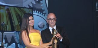 Nimrat Kaur, Yami Gautam and Pallavi Sharda at Watch World Awards 2015