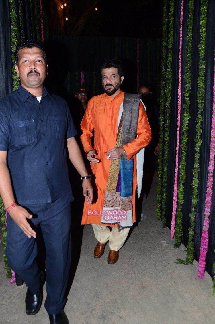 Anil Kapoor Diwali bash2