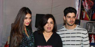 Athiya Shetty and Sooraj Pancholi promote pet adoption at Adaptathon