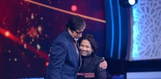 Amitabh Bachchan shoots for Aaj Ki Raat Hai Zindagi with Jeetendra