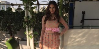 Amyra Dastur promotes Sonu Nigam's Aa Bhi jaa