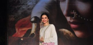 Deepika Padukone launches Bajirao Mastani first poster
