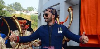 Ranveer Singh unveils official poster of Bajirao Mastani – Photos