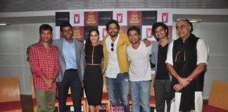 Ali Fazal launches upcoming movie Bang Baaja Baaraat