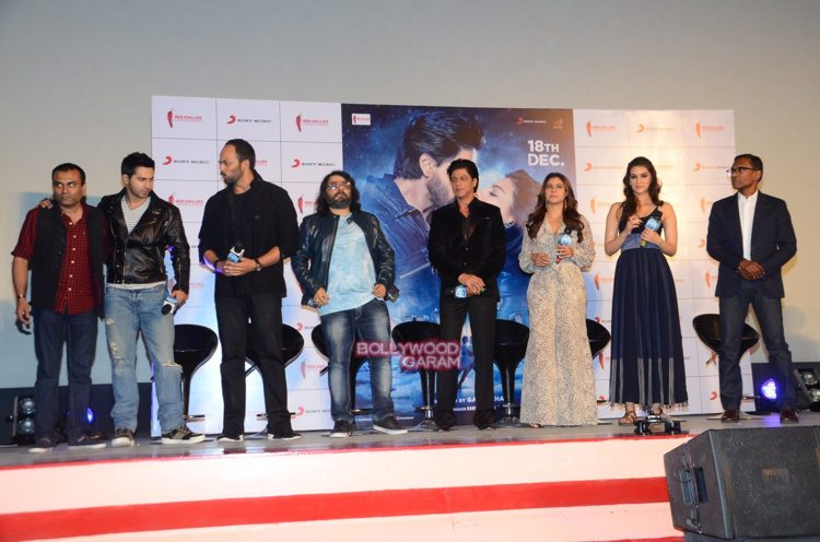 dilwale song launch11