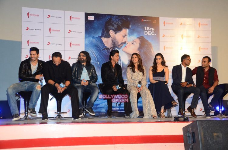 dilwale song launch12