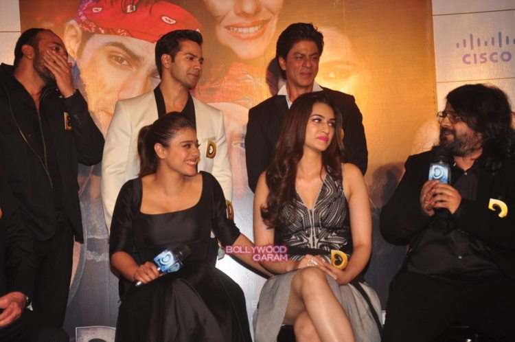 dilwale trailer launch14