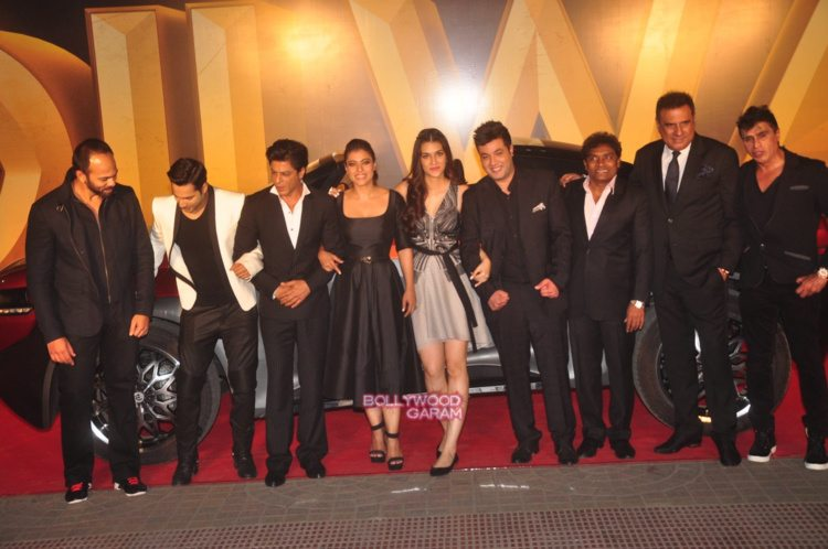 dilwale trailer launch3